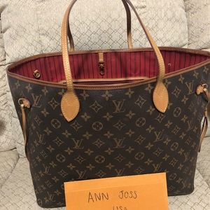 Authentic preowned lv Neverfull GM